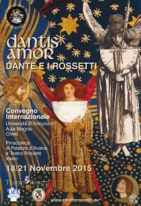 Convegno Dantis Amor Centro Rossettiano 2015