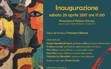 """""""Juan Del Prete. Libertà e Sperimentazione"""" Mostra d'arte a Palazzo d'Avalos"""