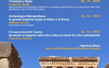 III° Incontro con l'Archeologia a Palazzo d'Avalos. Archeologia metropolitana