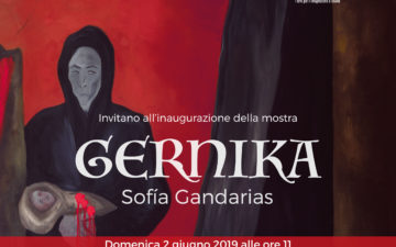 """""""Guernica"""" di Sofia Gandarias a Palazzo d'Avalos"""